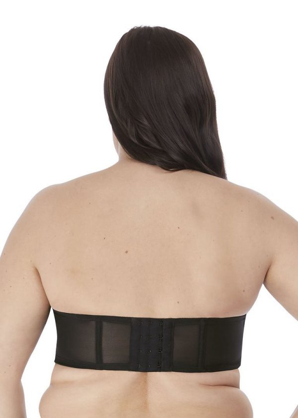 Elomi BH Strapless Smooth BLK