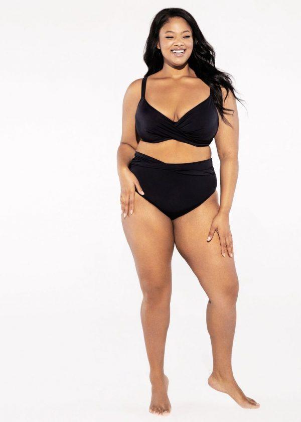 Bikini top Magnetic Black